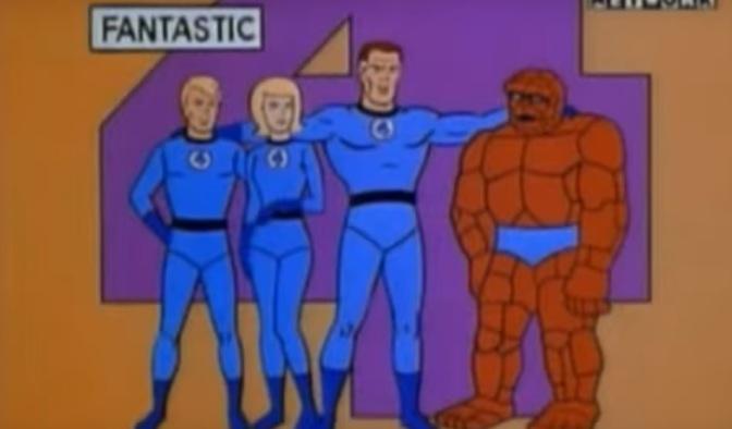 Throwback Superhero Cartoon of the Day: Fantastic Four (1967) Episode 1