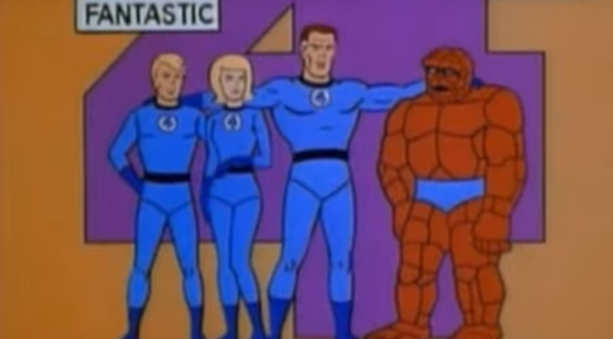 Throwback Superhero Cartoon of the Day: Fantastic Four (1967) Episode 1