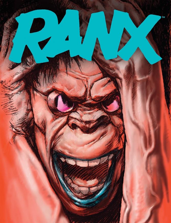 Dark Horse Comics Set to Release Ranx in English!