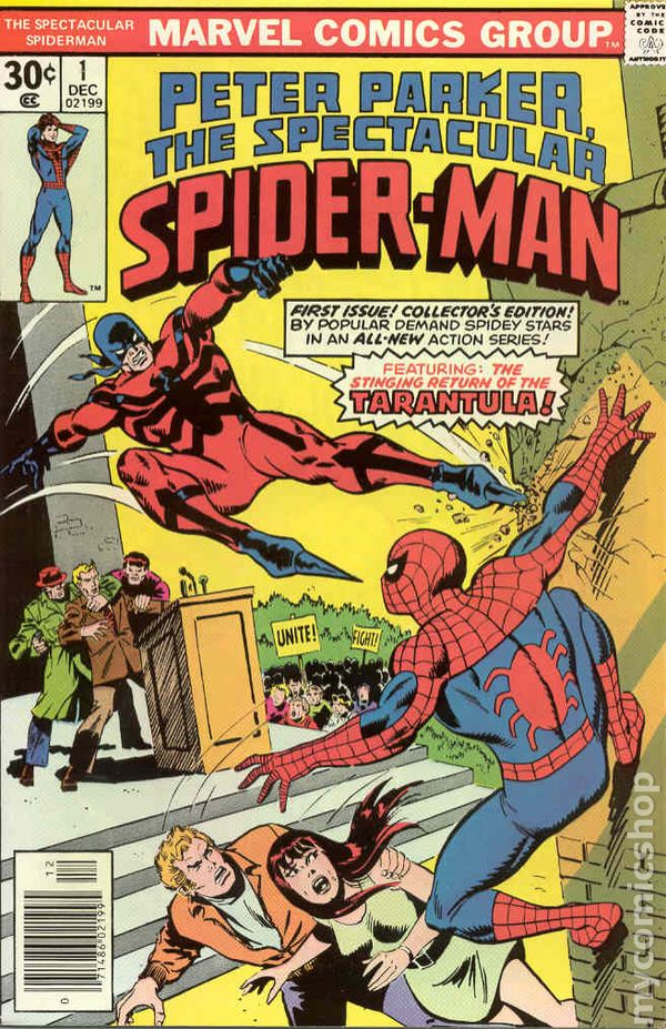 Throwback Review – Spectacular Spiderman #1