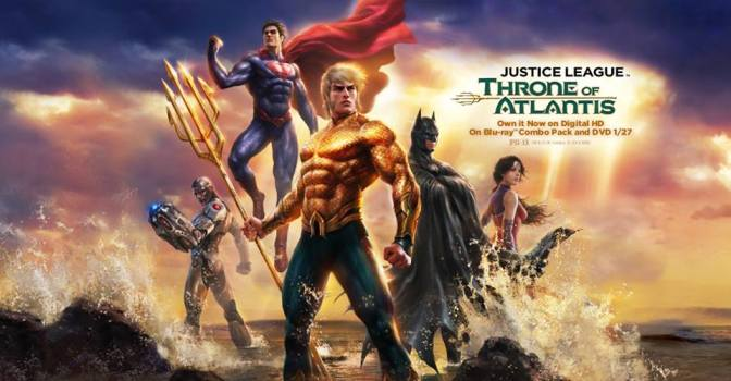 'Justice League: Throne of Atlantis' Remains One of the Greatest JL Stories Ever Told