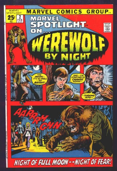 Werewolf by Night 2 Cover