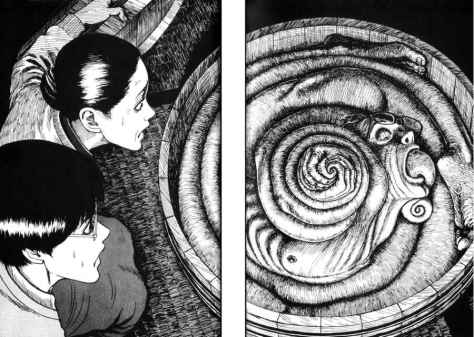 Uzumaki Manga Horror Comic