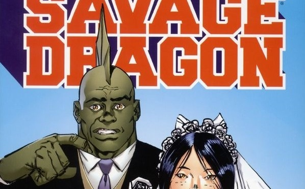 Savage Dragon Growing Pains