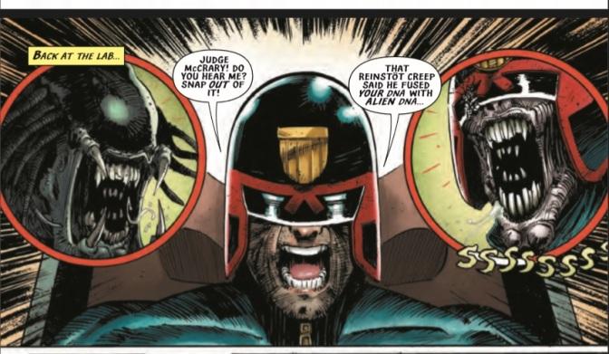 'Predator vs Judge Dredd vs Aliens #3' Review