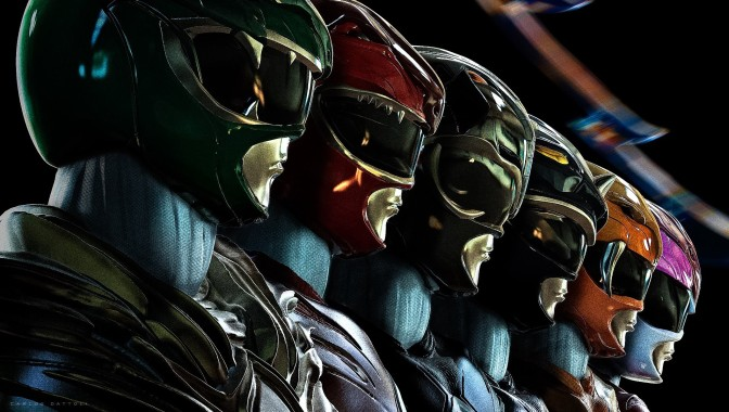 Wait… the 'Power Rangers' Movie Looks Kind of Cool?