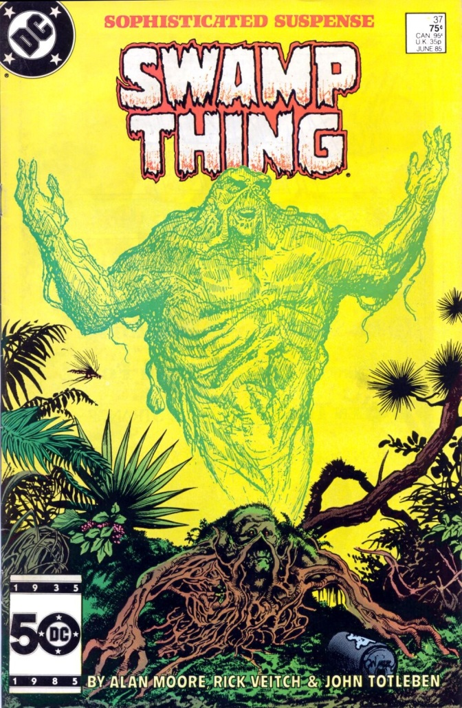 'Saga of the Swamp Thing' #37 (First Appearance of John Constantine) Review