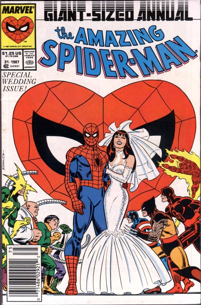 'Amazing Spider-Man Annual #21' (Review) Wedding of Peter and Mary Jane