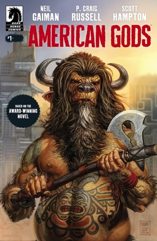 'American Gods #1' and 'Dead Inside #4' Lead the Dark Horse Charge This Week
