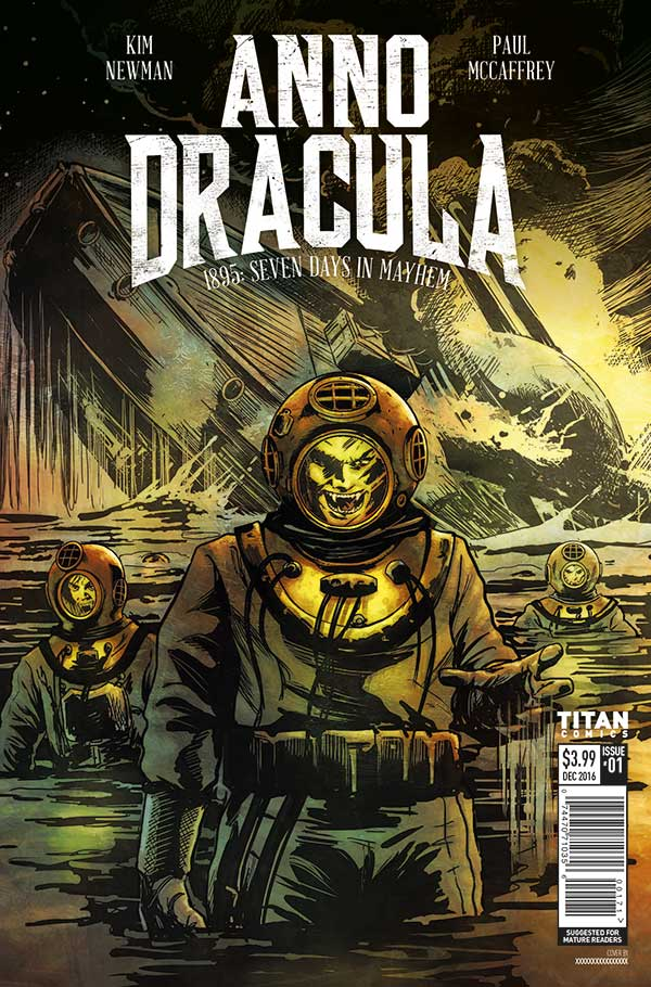 Check Out This Riveting Preview of 'Anno Dracula #1'!