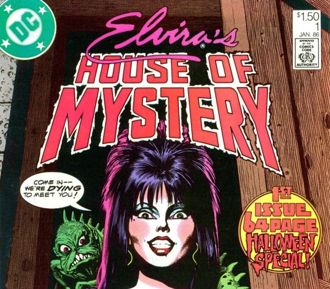 'Elvira's House of Mystery #1' Review