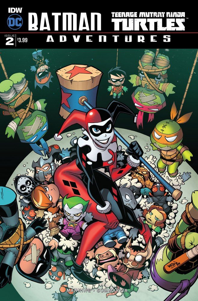'Batman and Teenage Mutant Ninja Turtles Adventures #2' Review