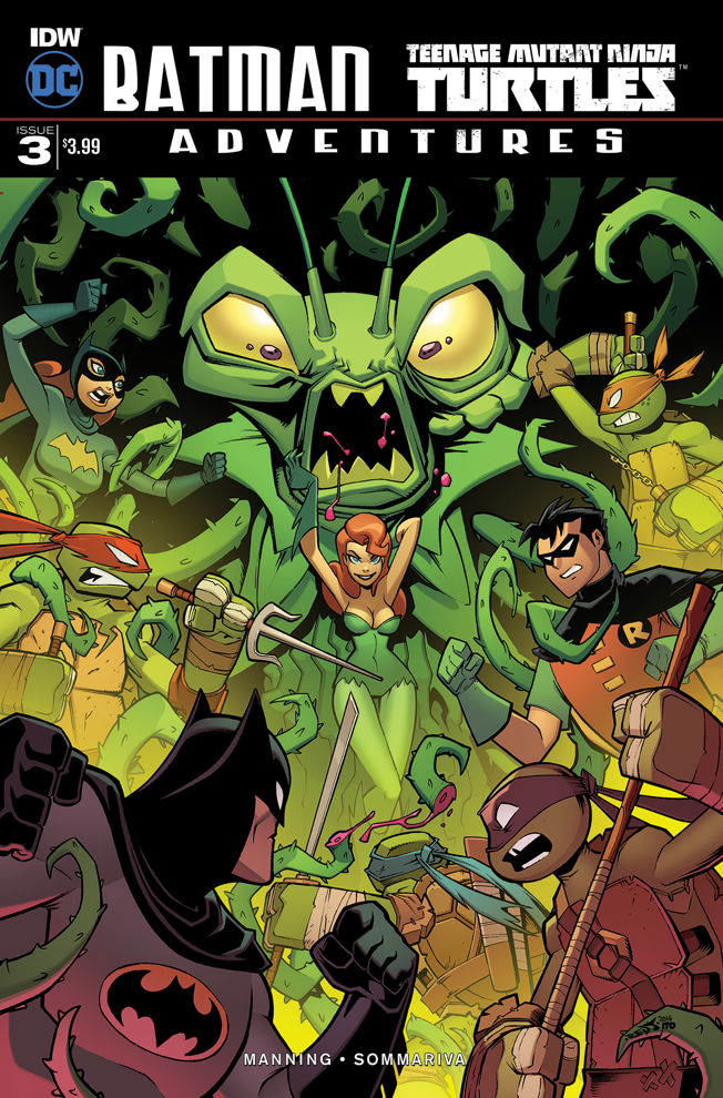 'Batman and Teenage Mutant Ninja Turtles Adventures #3' Review