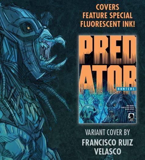 Dark Horse Predator: Hunters Variant