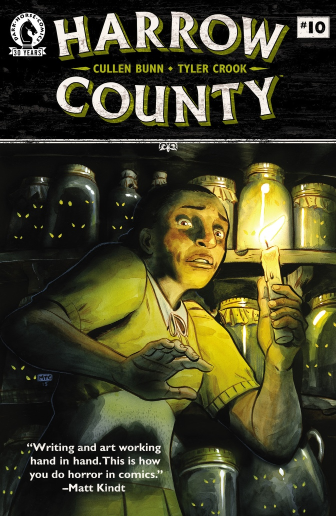 Harrow County #10 comic cover