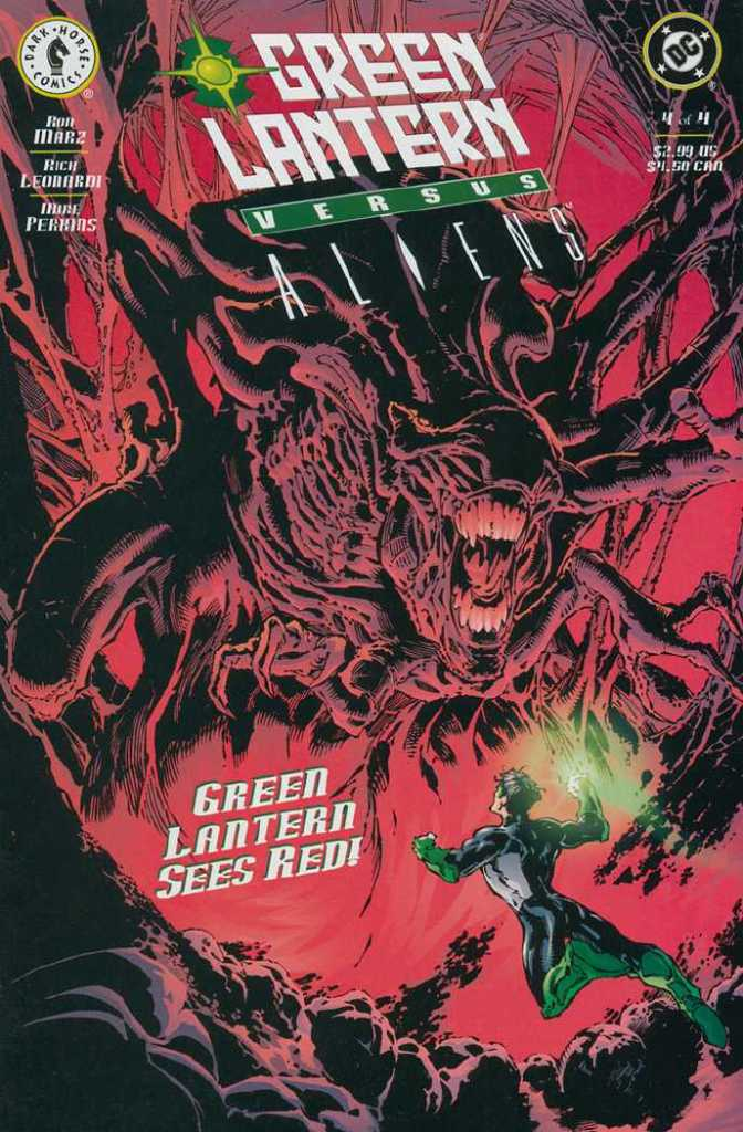 Green Lantern vs Alien