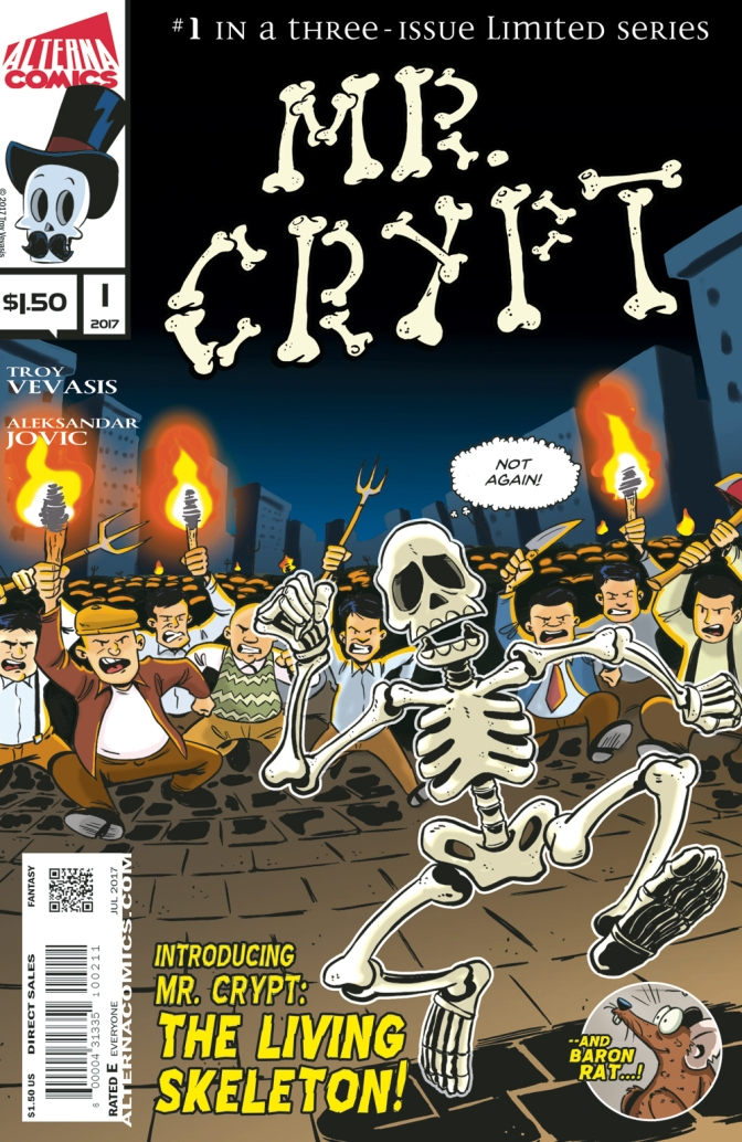 Alterna Comics Adds 'Mr. Crypt' to the Lineup