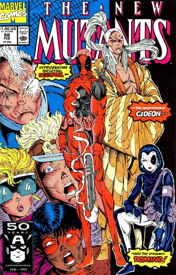1st Appearance of Deadpool in New Mutants #98